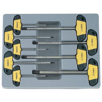 9pc Hex Screwdriver T Handle