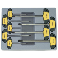 9pc T Handle Hex Driver (SAE)
