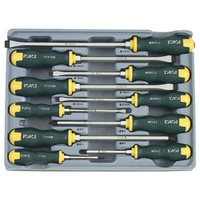 10pc Hammer Screwdriver Set (Slotted and Philips)