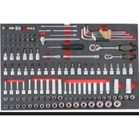 "135pc 1/4"" & 3/8"" Drive Combination Set"