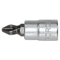 "3/8"" Drive Phillips Socket Bit 50mml PH.2"