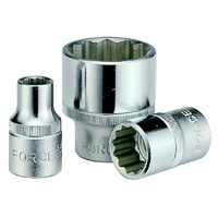 "1/2"" Drive Flank Socket. 12pt. Sizes: 1-1/16""-1-1/4"""