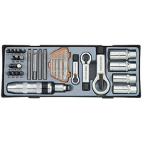 33pc Screw Repair Tools Set